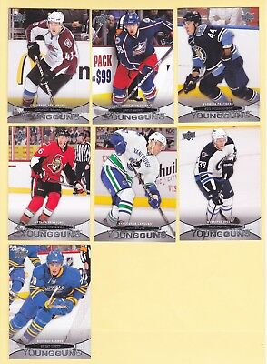 """2011-12 Upper Deck Young Guns """"Rookie Cards"""" - U-Pick To Complete Your Set"""
