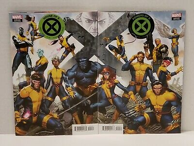 House of X + Powers of X #4 (NM/NM+ or 9.4/9.6) Molina Connecting Variants
