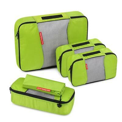Gonex 5Pcs Packing Cubes Luggage Travel Organizer Storage Bags Clothes Pouch NWT