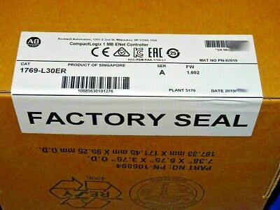2019 FACTORY SEALED Allen Bradley 1769-L30ER /A CompactLogix Processor