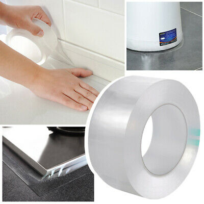 Self-Adhesive Sealing Tape Waterproof Transparent Sticky Strip Leakage Covers