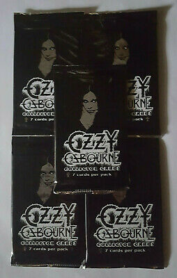 Ozzy Osbourne Trading Cards Choose from a selection of chase insert cards