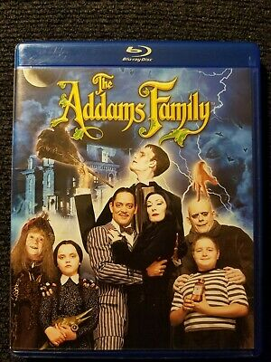 The Addams Family (Blu-ray Disc, 2014) Rare OOP w/ Addams Family Values