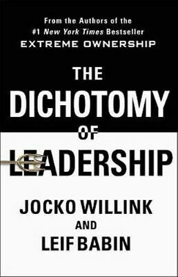 NEW The Dichotomy of Leadership By Jocko Willink Hardcover Free Shipping