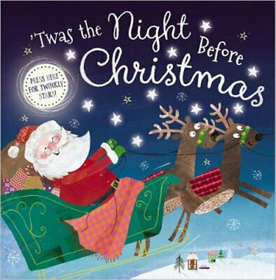NEW 'Twas the Night before Christmas Hardcover Free Shipping
