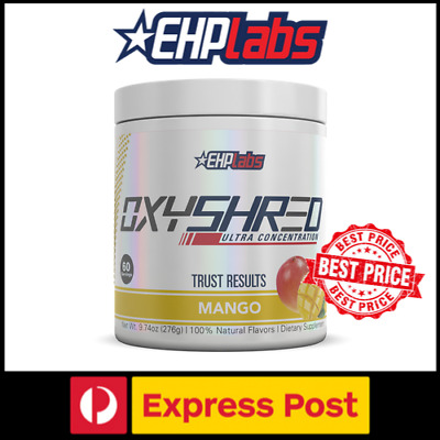 EHP Labs Oxyshred Fat Burner Thermogenic Fat Loss EHPLabs Oxy shred 60 servings