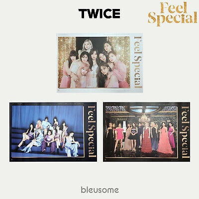 Twice - Feel Special Poster Unfolded Hard Tube Case Official Poster
