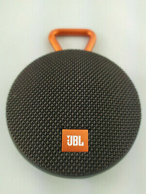 JBL Clip 2 Waterproof Portable Wireless Bluetooth Speaker Black Speaker Only