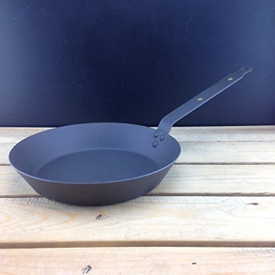 "Netherton Foundry Shropshire 10"" Oven safe iron frying pan"