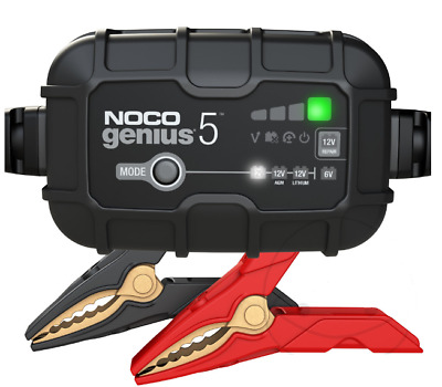 Canbus Enabled Motorcycle Battery Charger - Noco Genius G3500Uk 6/12V 3.5A
