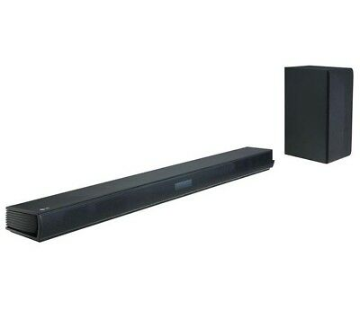 Lg Sk4D 2.1 Sound Bar Speaker 300W Wireless Subwoofer Bluetooth Optical Dolby *
