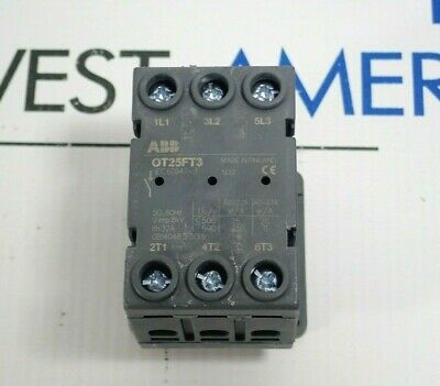 Abb Ot25Ft3 Switch Disconnector *New*