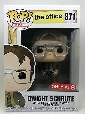 Funko Pop The Office Blonde Hair DWIGHT SCHRUTE #871 Target Exclusive MINT!!!