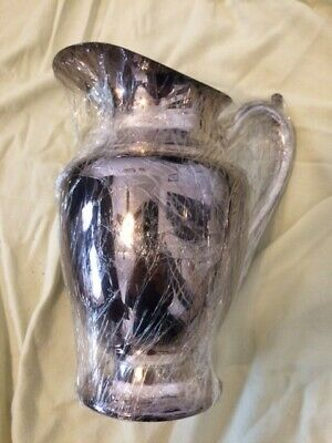 Vintage, Silver-plated Water Pitcher