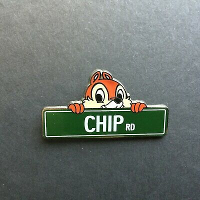 Disney Streets/Disney Parks Street Signs Mystery - Chip Rd. Disney Pin 113668