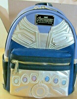 Loungefly thanos infinity wars Mini Backpack  endgame oh snap infinity stones