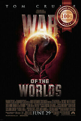 New War Of The Worlds Official Original Cinema Movie Film Print Premium Poster