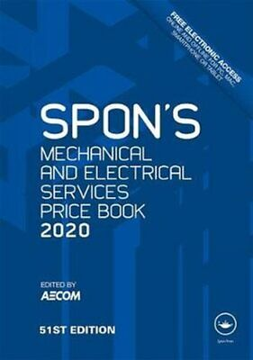 Spon's Mechanical and Electrical Services Price Book 2020 by AECOM 9780367271084