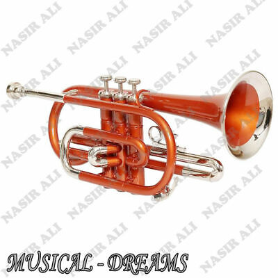 CORNET Bb PITCH COPPER LACQUERED WITH FREE HARD CASE