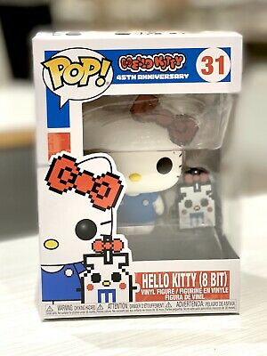 Funko Pop Hello Kitty 8 Bit 45Th Anniversary In Hand!