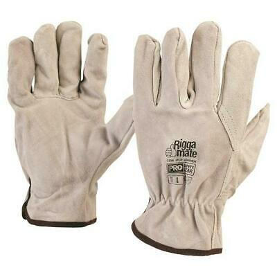 Cowsplit Leather Riggers Gloves(PACK OF 12)