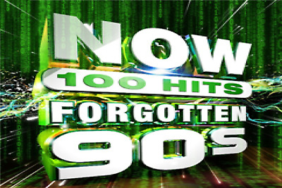 Various Artists	NOW 100 Hits Forgotten 90s 5 CD ALBUM SET NEW (1ST NOV)