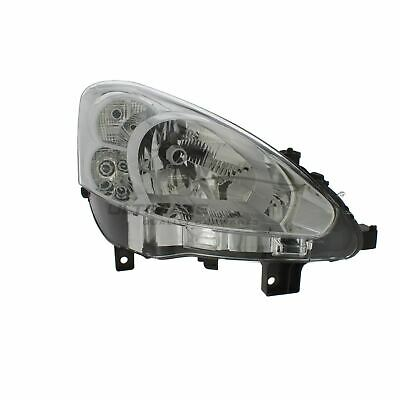 Peugeot Partner 2012-2016 Chrome Front Headlight Headlamp O/S Drivers Right