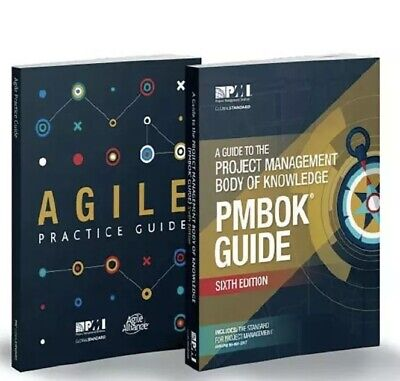 PMBOK Guide 6th Edition + Agile Practice Guide - P.D.F. High Quality