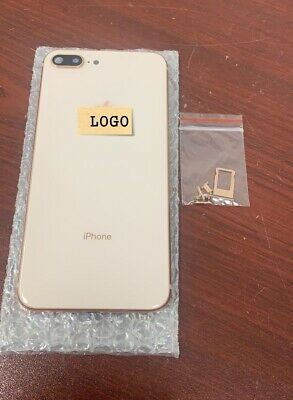 Replacement Back Housing Frame Battery Glass Cover For Apple iPhone 8 Plus Gold