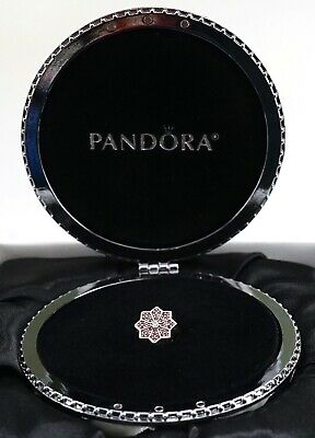 NEW Authentic PANDORA Silver 2016 LE Poinsettia Charm & 2018 Ornament Set 796800
