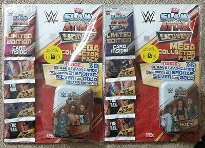 Topps Slam Attax Universe Mega Collector Pack-2