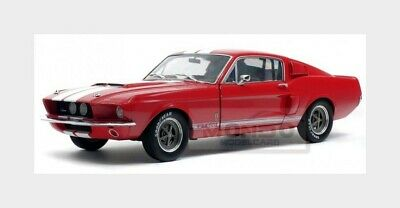 Ford Usa Mustang Shelby Gt500 Coupe 1967 Red White SOLIDO 1:18 SL1802902