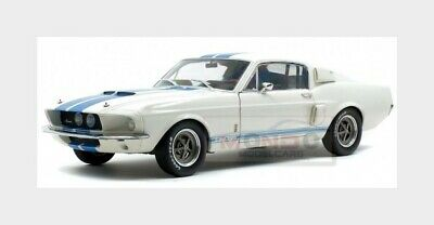 Ford Usa Mustang Shelby Gt500 Coupe 1967 White Blue SOLIDO 1:18 SL1802901