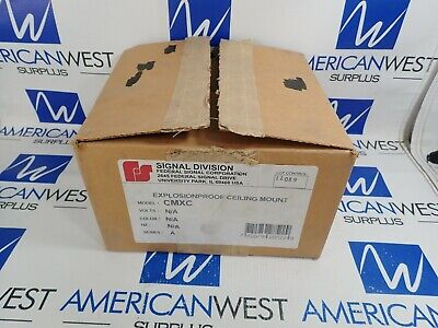 Federal Signal Cmxc Explosion Proof Ceiling Mount New