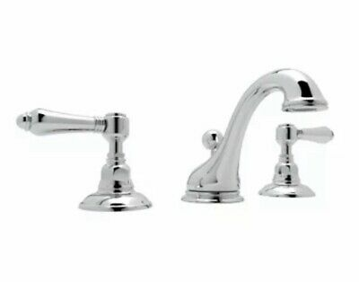 Rohl A1408LMAPC-2 Polished Chrome Country Bath Widespread Bathroom Faucet with