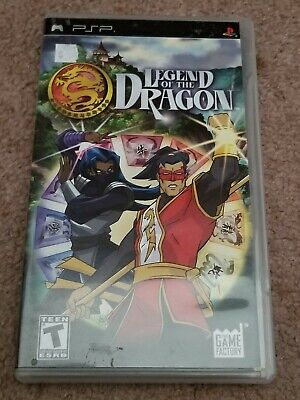 Sony Playstation Portable Psp Game  Legend Of The Dragon Cib