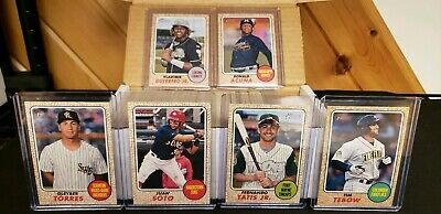 2017 Complete Topps HERITAGE MINOR SET *** (220) Cards #1-220 ALL (20) SPs  MINT