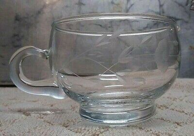 Princess House Heritage Pattern Collection Lead Crystal Creamer