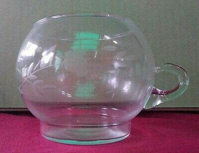 Princess House Heritage Pattern Collection Crystal Creamer