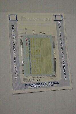 Central Railroad of New Jersey 40/' Door Stee Tichy Train Group #10107 Decal for