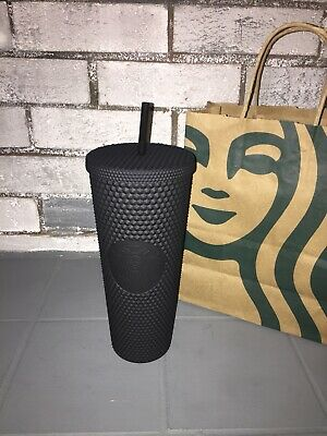 Starbucks Matte Black Studded Tumbler Cup • Fall 2019 - Limited Edition • NEW •