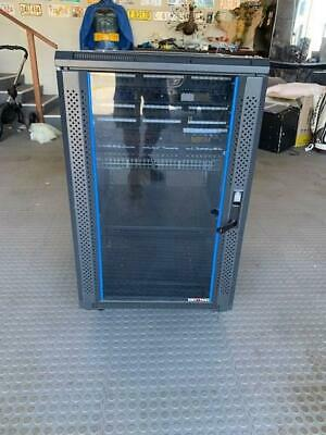 data cabinet 18 spot server rack with Cisco 52 port switch