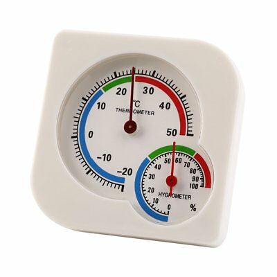 Digital Hygrometer Indoor Outdoor Thermometer Temperature and Humidity Monitor