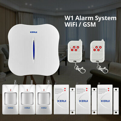 KERUI PSTN automatic dial detector WIFI wireless home office security alarm syst