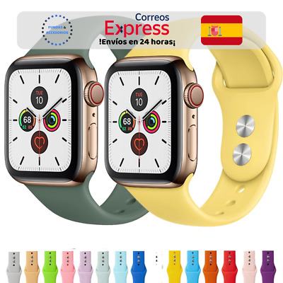 Correa deportiva silicona 17 colores - Apple Watch Series 1/2/3/4/5 iWatch