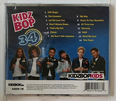 Kidz Bop Kids Kidz Bop 34 (Biggest Hits Sung By Kids For Kids) US CD 2017