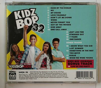Kidz Bop 32 (Biggest Hits Sung By Kids For Kids US CD (5 Bonus Tracks Incl.)2016