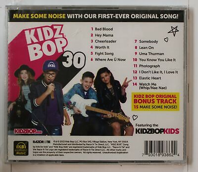 Kidz Bop 30 (Biggest Hits Sung By Kids For Kids) US CD (1 Bonus Track Incl.)2015