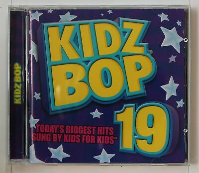 Kidz Bop 19 (Biggest Hits Sung By Kids For Kids) US CD 2011
