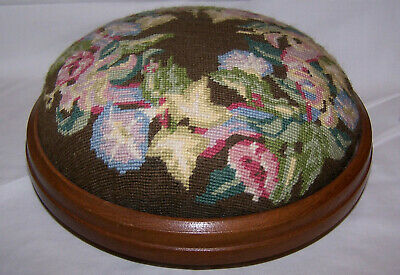 Antique Style Tapestry Foot Stool